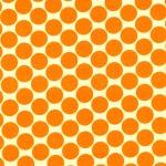 Full Moon Polka Dot –Tangerine