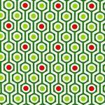 Hexagon Stripe –Holiday