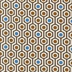 Hexagon Stripe – Nutmeg