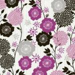 Large Floral –Purple
