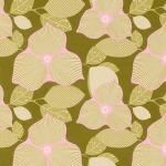 Optic Blossom –Olive