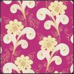 Swirled Trees –Fuchsia