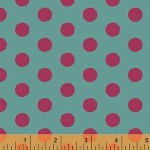 Painted Dots –Teal