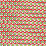 Daisy Buttons – Red
