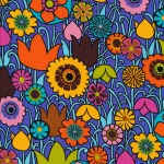 Floral – Blue