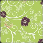 Flowery Trellis –Lime