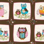 Owl Blocks – Pink