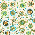 Owl Dots –Green
