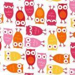 Owls – Pink