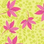 Pretty Flowers –Lime