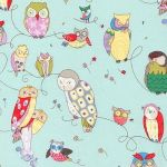 Spotted Owl –Blue