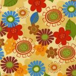 Whimsical Flowers –Earth