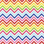 Zig Zag Stripe –Bright